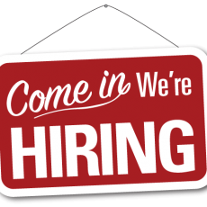 We are Hiring!!! Updated June 10, 2016