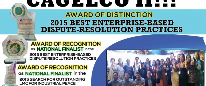 CAGELCO II garners awards at 10th Nat'l LMC Convention