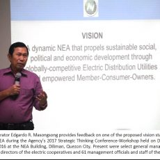 NEA vows to intensify electrification of rural communities, empowerment of electric coops