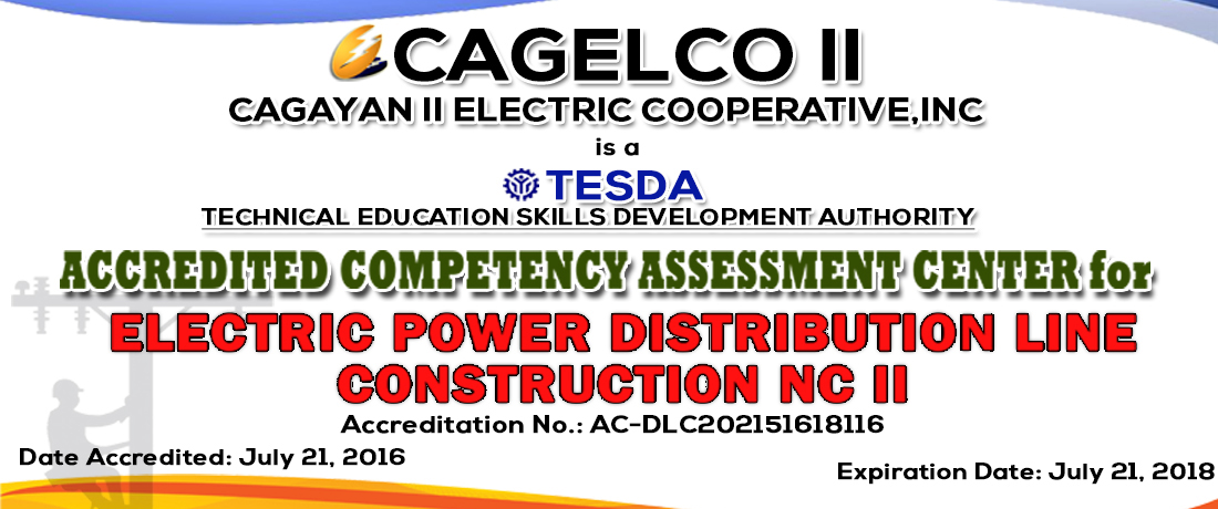 CAELCO II is Accredited Competency Assessment Center